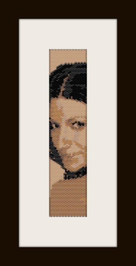 PDF schema bracciale Laura P2 in stitch peyote pattern - solo per uso personale .