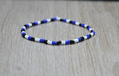 bracciale elastico perline nazione, bracciale estonia