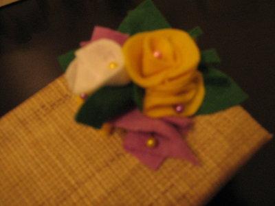 scatole... in fiore!