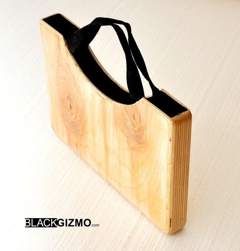 Wooden laptop case