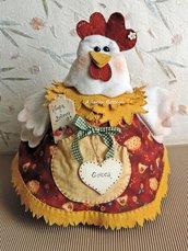 Cartamodello Cocca la gallina