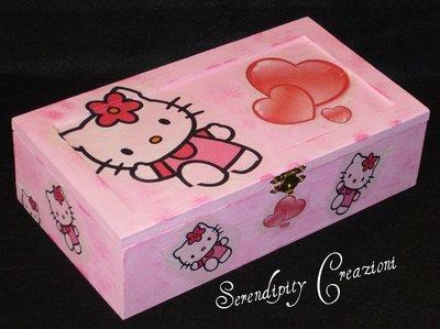 Cofanetto Portagioie Hello Kitty