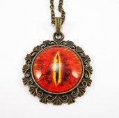 Collana Occhio di Sauron - Signore degli Anelli