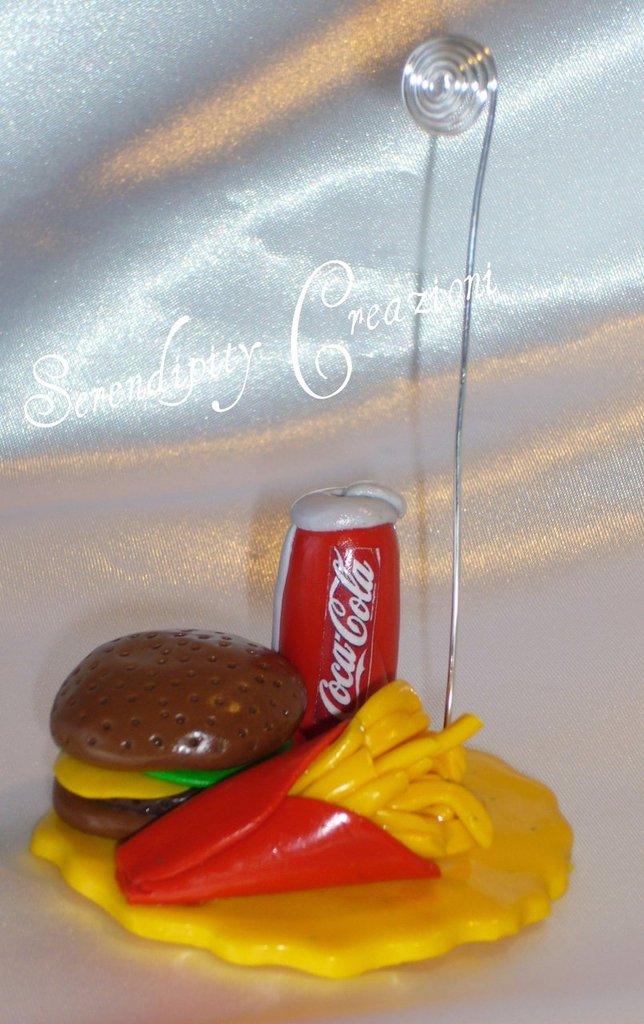 Portafoto - Porta-Appunti Hamburger