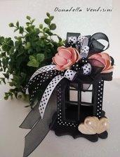 Bomboniera lanterna sacchetto confetti cerimonia handmade piccole gioie doni e bomboniere