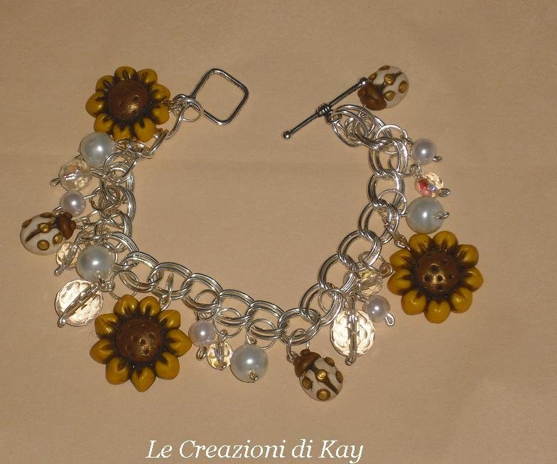 Bracciale Sunflower-ladybug