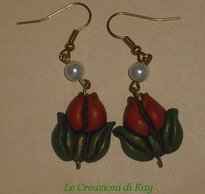 orecchini Tulip