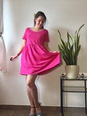 Abito Lampone rosa