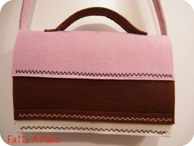 Buisness Bag in feltro