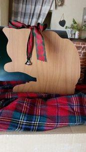 Sagoma gatto in legno