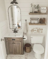 Adesivo Soap & Water industrial style