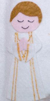 Bambino con monacale articolo personalizzato Roberta
