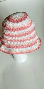 Cappello multicolor bambina