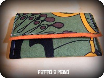 Portatabacco in feltro e stoffa