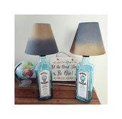 bellissima Bombay lamp,abatjour,bottiglia di vetro,lampada da tavolo,lampade personalizzate,design,industriale,handmade,festa della mamma