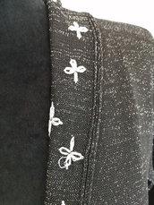giacca cardigan maglia