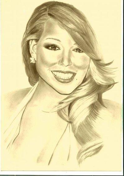 ritratto Mariah Carey