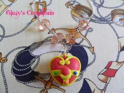 Collana Il Cristallo del Cuore di Sailor Moon!