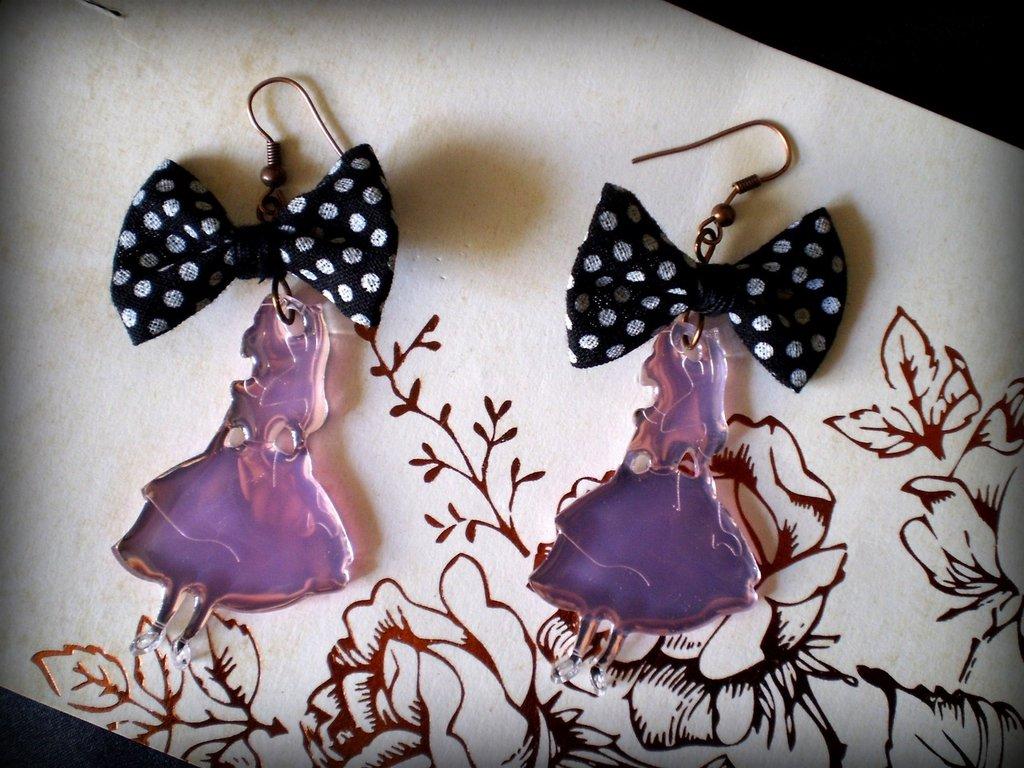 Orecchini Alice in Wonderland