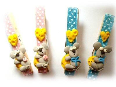 Mollette segnaposto topolino- bomboniera