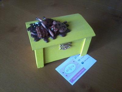 ✿ Cofanetto con biscotti e cioccolato ✿