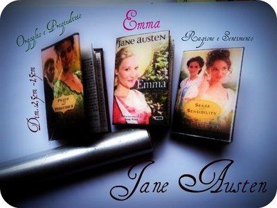 """Miniature - Libri """"Orgoglio e Pregiudizio - Emma - Ragione e Sentimento"""""""