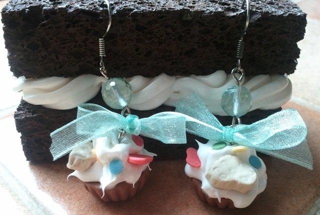 orecchini cupcake 1