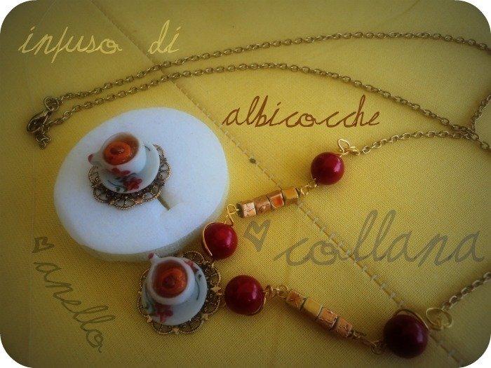 Anello & Collana - Infuso di Albicocche