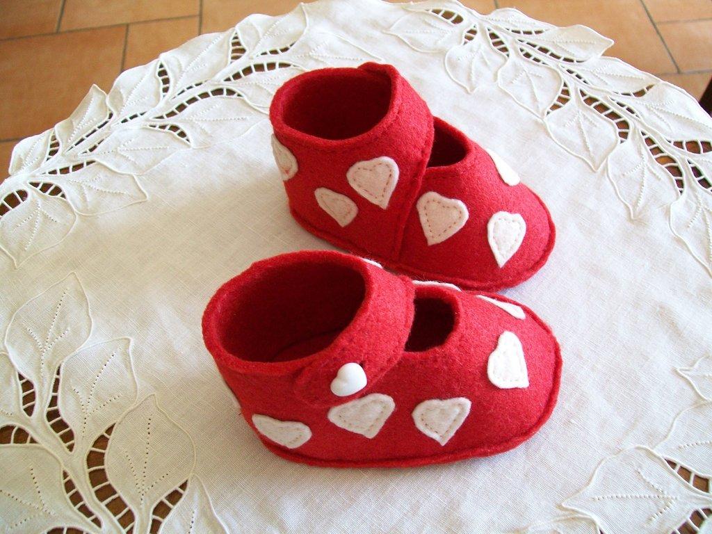 Babbucce cappuccetto rosso