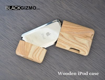 Wooden case for iPod