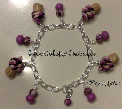 Braccialetto cupcakes