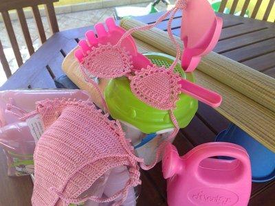 Bikini Bambina Alluncinetto Donna Abbigliamento Di Irene Vin