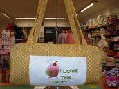 borsa per lavoro a maglia