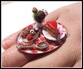 ★★SALDI Anello Picnik :) torta, gelato, biscotti ecc