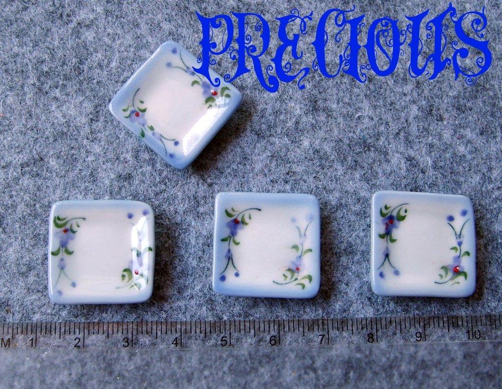 """Miniatura piatto """"grande"""" fiori"""