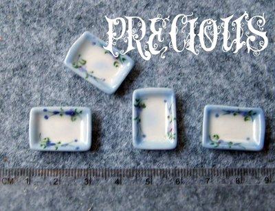 """Miniatura piatto """"medio"""" fiori"""