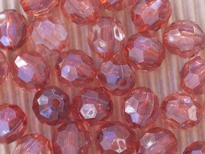 25 perle sfaccettate 11mm vend.