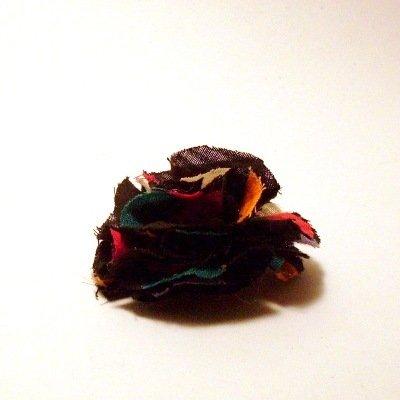 Spilla Fiore in tessuto