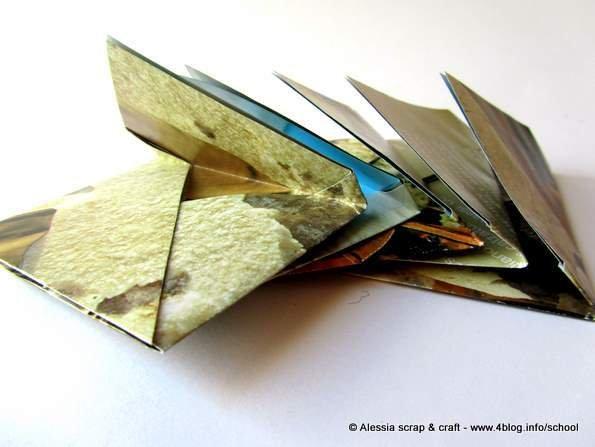 Set 5 mini buste ECO CHIC in carta riciclata - SPESE SPEDIZIONE GRATIS