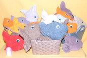 Set da cinque pesciolini
