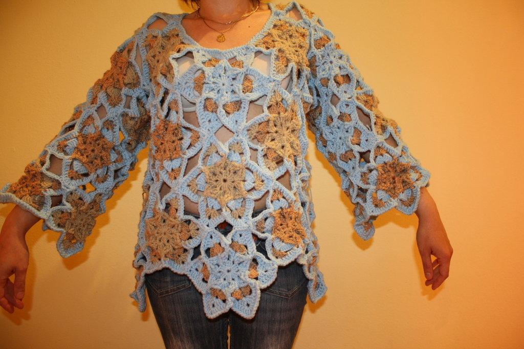 poncho & maglione