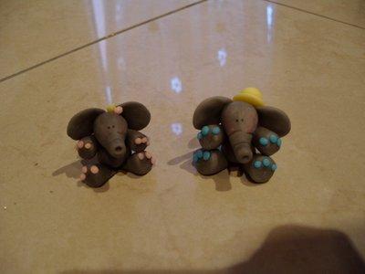 Elefantino bomboniera nascita battesimo