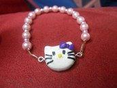 bracciale hello kitty