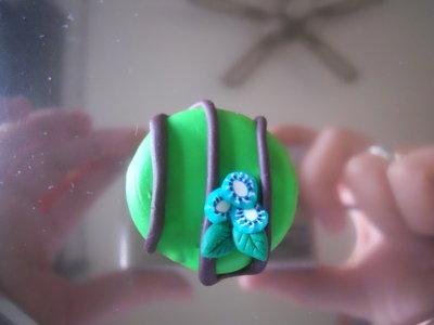 ciondolo torta kiwi