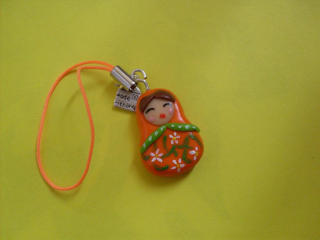 Phone strap Matrioska