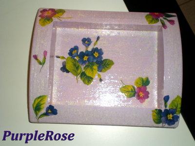 Svota tasche découpage #2 Violette