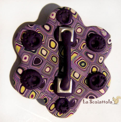 Spilla viola #07