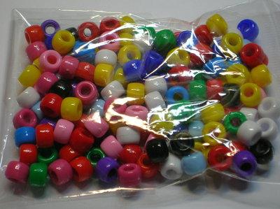 Mix Perle Plastica Colorata