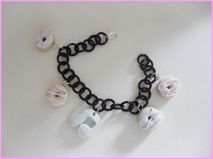braccialetto ciambelline-nota musicale