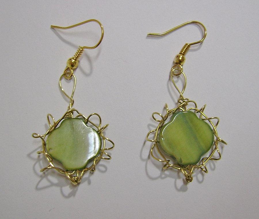 Orecchini Green Gold